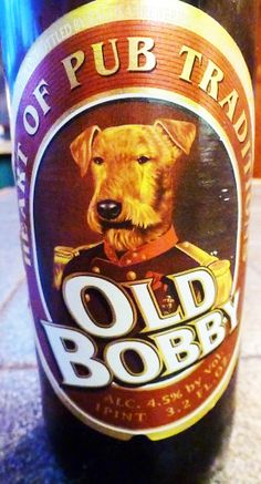 Old Bobby - Russian Beer