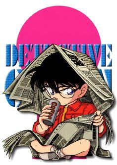 Ran mouri a vraiment de superbes images! Digne d'une vraie fan! ;)  Super compo et couleurs! Le rouge et le rose sont super dur à associer.  Azur. Conan Movie, Detektif Conan, Magic Kaito, Anime Nerd, Manga Anime, Detective Conan Wallpapers, Gosho Aoyama, Kudo Shinichi, Chibi Characters