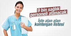 Sağlık Bakanlığı 9 bin memur alacak - Siverek Haber Haberin Doğru Adresi