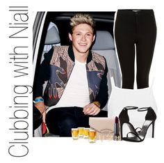 """""""Clubbing with Niall"""" by miranda5sos1d ❤ liked on Polyvore featuring Topshop, Givenchy, Stuart Weitzman, Bite and Charlotte Russe"""