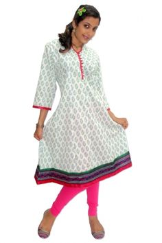 Cotton Anarkali #Kurti - Rs. 795