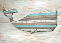 Pallet Whale Wooden Nautical Art Beach House Decor by SlippinSouthern on Etsy https://www.etsy.com/listing/103375364/pallet-whale-wooden-nautical-art-beach