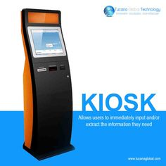 The #kiosk allows for users to #immediately #input and/or #extract the #information they need. #TucanaGlobalTechnology #Manufacturer #HongKong