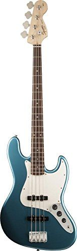 Squier Affinity Series basses represent the best value in bass guitar design. The Affinity Series Jazz Bass rocks powerful tone...