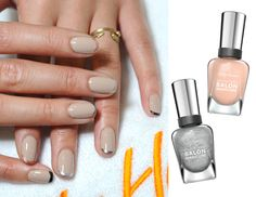 The NEW French manicure. A fantastic how-to.