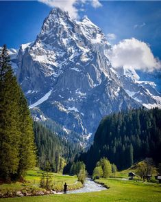 """What are men to rocks and mountains"" Are you down for a Switzerland adventure? Tag a friend that would explore here too! Wonderful Places, Beautiful Places, Belle Image Nature, Places To Travel, Places To Go, Travel Destinations, Landscape Photography, Nature Photography, Nature Pictures"
