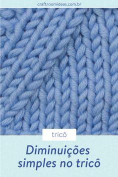 Como fazer diminuições no tricô - Craft Room Ideas Weaving Patterns, Crochet Blanket Patterns, Baby Blanket Crochet, Knitting Patterns Free, Stitch Patterns, Manta Crochet, Tunisian Crochet, Knit Crochet, Drops Design