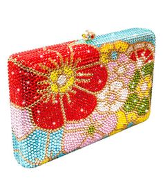 757813ac4 Another great find on  zulily! Red Austrian Crystal Lily Clutch   zulilyfinds Austrian Crystal