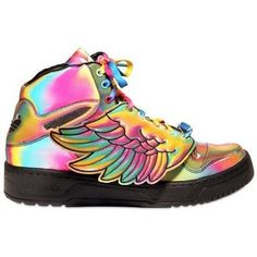 huge selection of 92e3e fb5f5 Jeremy Scott shoes... Legit Sneakers Multicolor, Colorful Sneakers,  Colorful Shoes,