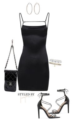 """""""Untitled #159"""" by styledbyleilani ❤ liked on Polyvore featuring Chanel, Irene Neuwirth, Public Desire and Cartier"""