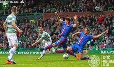 Celtic 1-0 Inverness Caledonian Thistle, 1st November. John Guidetti's shot…