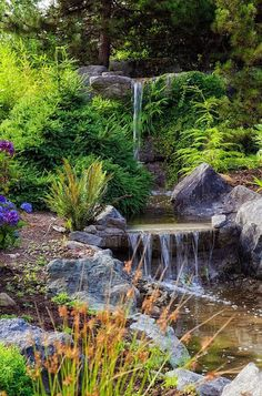 Backyard Waterfalls Pictures 982 best backyard waterfalls and streams images on pinterest in 2018
