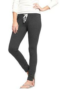 i want these sweatpants a disproportionate amount to what they actually are... cheap version of the saturday pant.  Women's Drawstring Jersey Pants | Old Navy