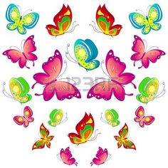 8 Cartoon Insects clipart,caterpillar clipart,butterfly clipart ...