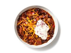 Get this all-star, easy-to-follow Pork-Brisket Chili recipe from Food Network Kitchen