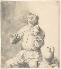 Hendrick Sorgh | Man Playing The Violin | The Met