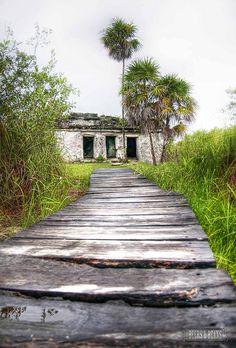 Wander through the Sian Kaan Biosphere  in Riviera Maya >>> Beautiful!