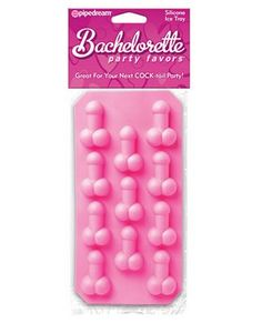 Bachelorette Party Favors Silicone Penis Ice Tray $4.08