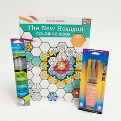 Amazing Adult Coloring Book and Stardust Pen Pack Giveaway