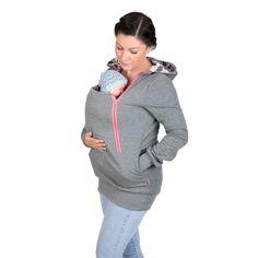 Купить товар4 В 1 Baby Carrier Беременности Материнства Толстовки Кофты Куртка Уход Грудное вскармливание Кенгуру Балахон Moom Молния Пальто в категории Толстовки и кофтына AliExpress. [xlmodel] [размер]-[9999]размер Таблицы это США/Европейский Размер и, пожалуйста, проверьте размер, чтобы выбрать размер