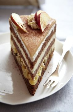 Our favorite recipe for winter apple pie and more than more . - Kuchen und Torten Rezepte - gateaux et desserts Food Cakes, Cupcake Cakes, Cupcake Recipes, Apple Pie Recipes, Sweet Recipes, Baking Recipes, Naked Cakes, Fall Desserts, Cakes And More