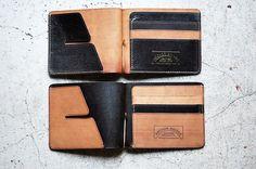 Leather Money Clip | White Rabbit Express
