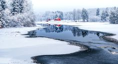 Swedish Winter Scene by Adnan Bubalo - Photo 193230847 / 500px