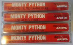 MoNTY PYTHoN cassette tape LoT vintage comedy by VintageTrafficUSA, $33.50