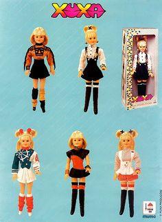 Eu tive - Bonecas da xuxa, anos 80