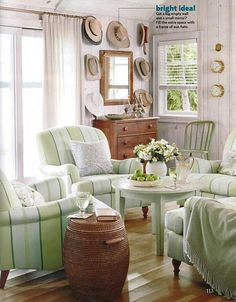 Sarah Richardson Design - Sarah's Cottage/Summer House (Country Living July/August 2011)