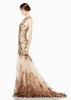 Alexander McQueen 2012- i love gold anything