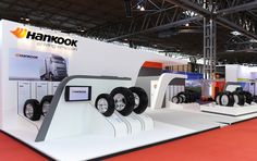 Hankook Tyres @ The Commercial Vehicle Show / Birmingham Exhibition Stall, Exhibition Stand Design, Showroom Design, Interior Design, Wall Of Fame, Commercial Vehicle, Booth Design, Trade Show, Event Design