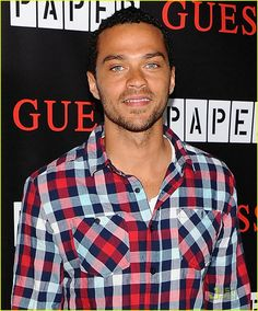 Jesse Williams. mocha latte skin, panty dropping blue eyes