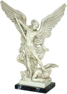 Archangel Michael Slaying the Devil