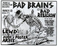 L.A. Punk Rock Flyers, Handbills And Posters ('77-'83