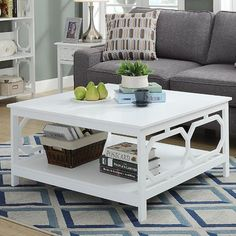 Beachcrest Home Country Walk Coffee Table Color: White Find Furniture, Cheap Furniture, Furniture Design, Kitchen Furniture, Table Furniture, Coffee Table With Storage, Coffee Tables, Living Room Color Schemes, Small Room Bedroom