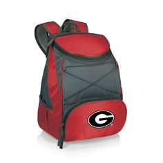 Picnic Time Georgia Bulldogs PTX Backpack Cooler, Red