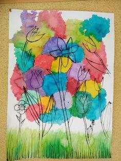 Art Lessons, Art For Kids, Preschool, Arts And Crafts, Jar, Watercolor, Blog, Painting, Art Kids