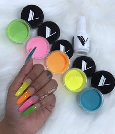 Want some ideas for wedding nail polish designs? This article is a collection of our favorite nail polish designs for your special day. Read for inspiration Aycrlic Nails, Neon Nails, Nail Swag, Nail Polish Designs, Nail Designs, Wedding Nail Polish, Gel Nails At Home, Fire Nails, Best Acrylic Nails