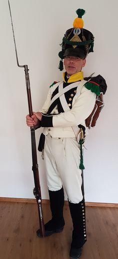 Voltigeur 7th Royaume de Westphalie 1809