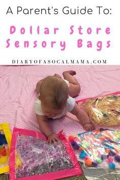 Baby Sensory Bags, Baby Sensory Play, Diy Sensory Toys For Babies, Diy For Babies, Sensory Motor, Cool Baby, Montessori Baby, Montessori Bedroom, Baby Monat Für Monat