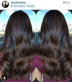 Studio Tilee - Austin, TX, United States. I love this rich balayage highlight for those who want a subtle change!