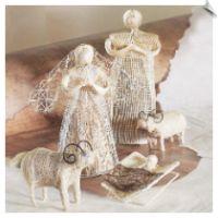 Sinamay Nativity
