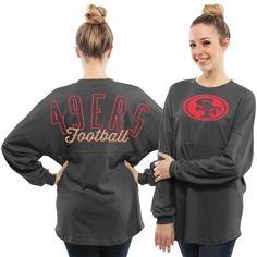 Womens San Francisco 49ers '47 Brand Scarlet Fiona Cuff With Pom ...