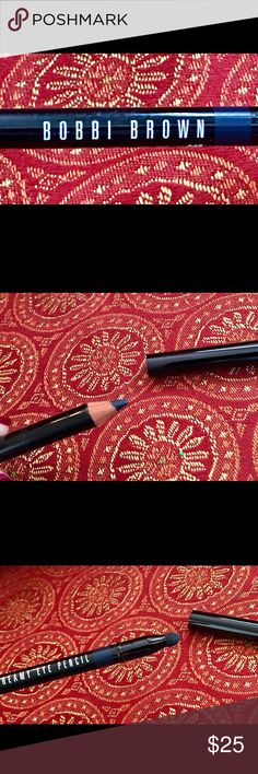 Bobbi Brown Midnight Eye Liner Pencil NWOT This is a new Bobbi Brown Eyeliner pencil in midnight 3. Never used. This eye pencil is no longer made. Please no returns on cosmetics for hygienic reasons. No trades please. Bobbi Brown Makeup Eyeliner