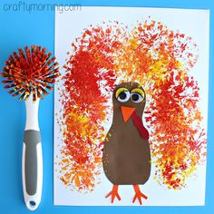 17 Cute Thanksgiving Crafts for Kids   Boy Birthday Party Ideas ...