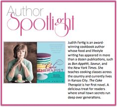 Our #staffpick for this week's #authorspotlight is Judith Fertig. To learn more, check out her website www.judithfertig.com #AwardWinning #Food #Lifestyle #Writer