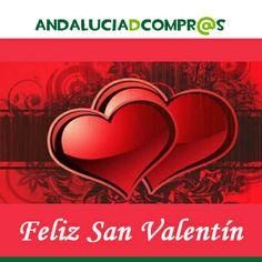 ¡FELIZ SAN VALENTÍN!  Andalucía de Compras te desea un feliz día de los enamorados.  Celébralo con tu pareja y hazle un regalo especial: una cena romántica, flores, bombones, una sesión de spa...