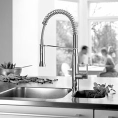 Grohe - K7 Series - Kitchen Faucet. A #kitchentap that is getting a lot of attention this week, and we don't blame you!