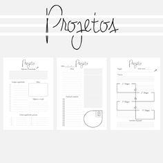 Raíssa Medrado Work Planner, Project Planner, Free Planner, Planner Bullet Journal, Bullet Journal Hand Lettering, Planners, Planner Inserts, Planner Stickers, Wedding Planner